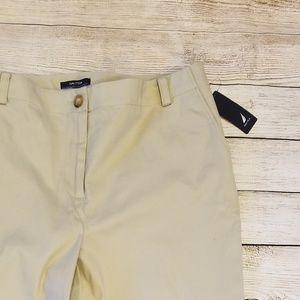 NWT Nautica   Havana Khaki Trousers- 10